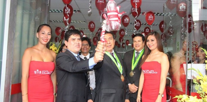 Caja Cusco, líder en innovación financiera, inauguró agencia en Ica