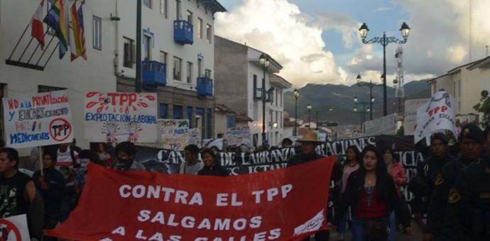 Programan diversas actividades para hacerle frente al TPP firmado por Ollanta Humala