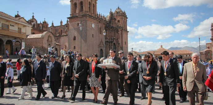 Emotivo homenaje por el IV centenario de fallecimiento del Inca Garcilaso