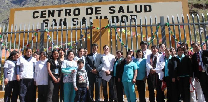 Inauguran centro de salud en el distrito de San Salvador, provincia de Calca