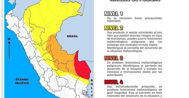 Cuarto friaje del año se inicia este martes 26 de abril y afectará las siguientes regiones