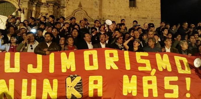 Fujimori #NuncaMas, por justicia y dignidad