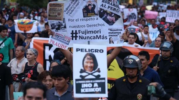 «El apellido Fujimori se ha convertido en un motivo de conflicto permanente para los peruanos»