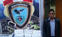 Intervienen a ciudadano ayacuchano con 10 kilos de alcaloide de cocaína