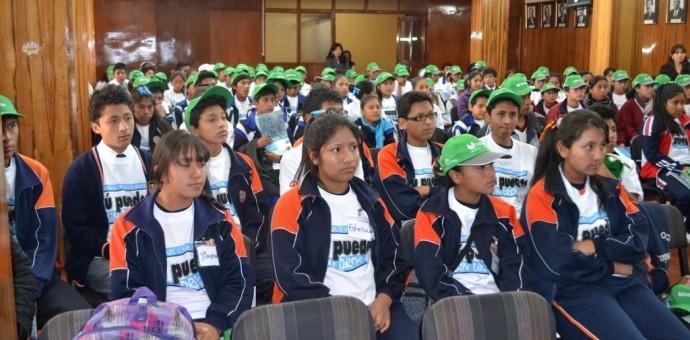 Devida y Educación forman 400 líderes estudiantiles para prevenir consumo de drogas