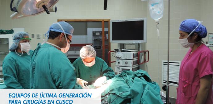 Essalud Cusco adquiere equipos de última generación para cirugías especializadas