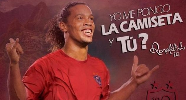 Ronaldinho ya tiene fecha de llegada a la ciudad imperial del Cusco