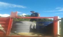 En la vía Echarate Quillabamba inmovilizan vehículo con 700 galones de petróleo