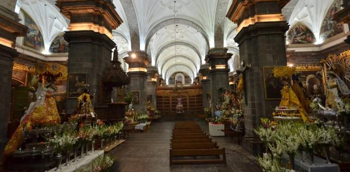 Este es el orden de salida a la procesión de las imágenes en el Corpus Christi