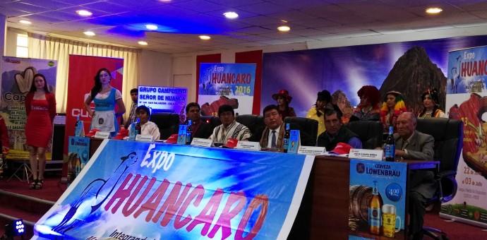 Expo Huancaro 2016 se realizará del 22 de junio al 3 de julio