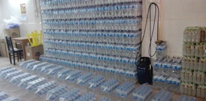 Descubren en San Jerónimo clandestina fábrica envasadora de agua