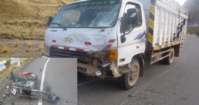 Canas: Joven motociclista halla trágica muerte en accidente de tránsito