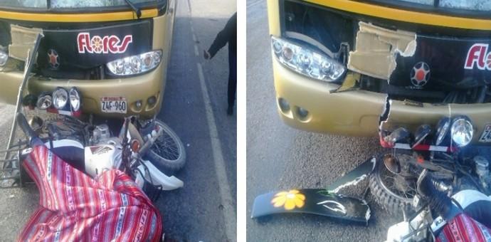 Fallecen dos mujeres de 14 y 18 años en lamentable accidente de tránsito en Sicuani