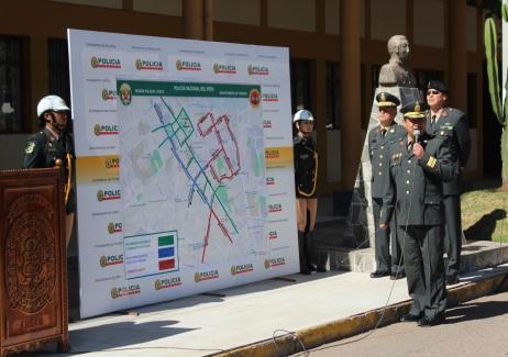 Cerca de 3 mil policías darán seguridad durante las fiestas del Cusco y Cumbre de Autoridades