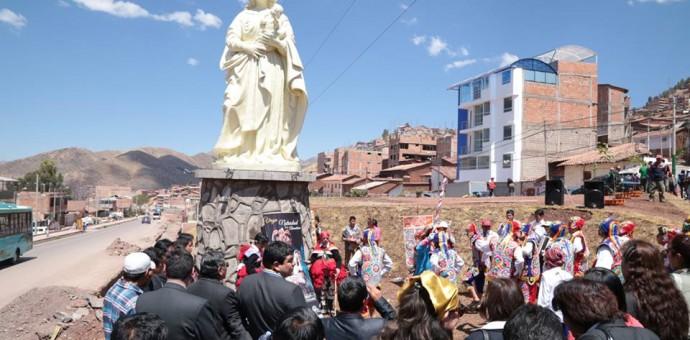 Tres vírgenes son las obras más importantes en la Municipalidad de Santiago