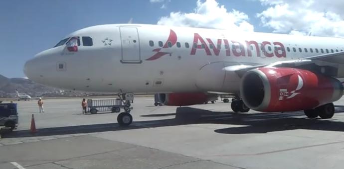 Hoy llegó el primer vuelo directo de Bogotá Colombia a la Ciudad Imperial del Cusco