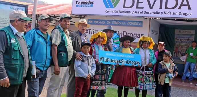 Más de 3 mil personas recibieron charlas de Devida en la Expo Huancaro 2016