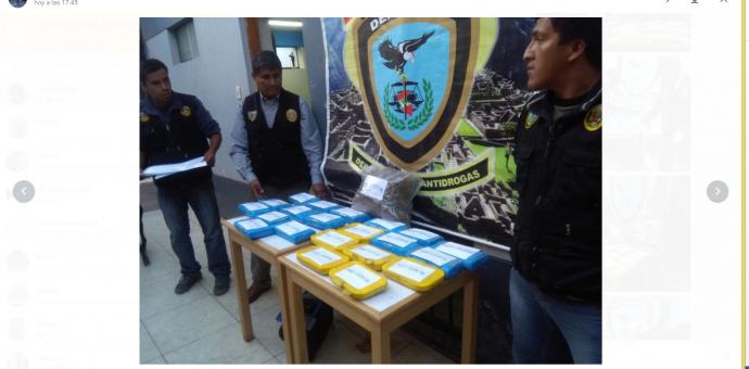 Sujeto cae con cerca de 24 kilos de droga en la provincia de Anta