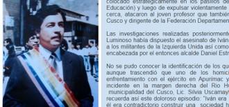A 26 años de la dolorosa partida del regidor y docente universitario Ivan Pérez Ruibal