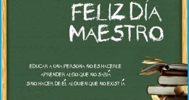 Feliz Día Maestro cusqueño, siempre comprometido a formar y educar en valores