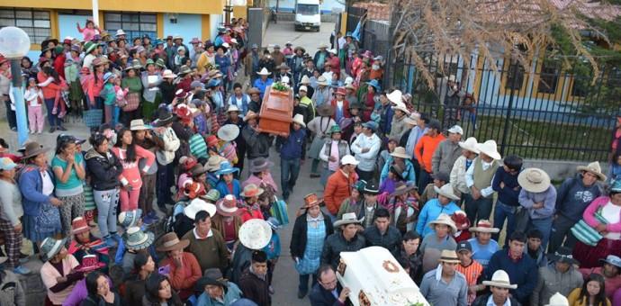 Duelo en la provincia de Chumbivilcas por trágico accidente de tránsito