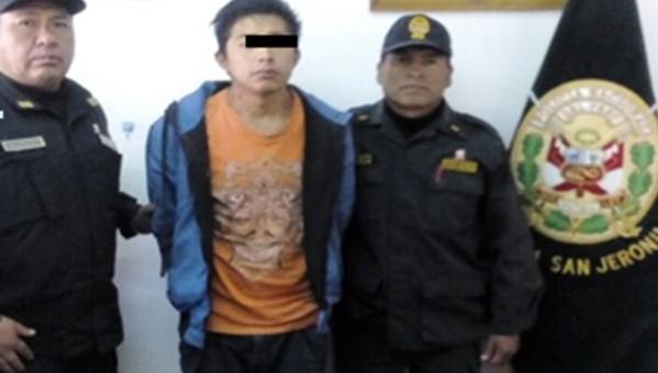 Policía captura a sujeto de 25 años denunciado por ultrajar a universitaria de 19 años