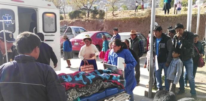 Menor de 16 años sufre amputación de piernas tras accidente de tránsito en Sicuani