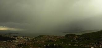 Advierten lluvias de moderada intensidad con descargas eléctricas en 8 regiones del país