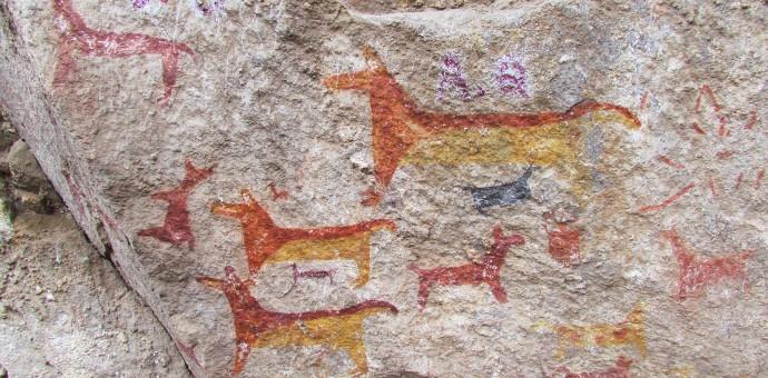 Pinturas rupestres de más de 500 años de antigüedad fueron dañadas en Calca