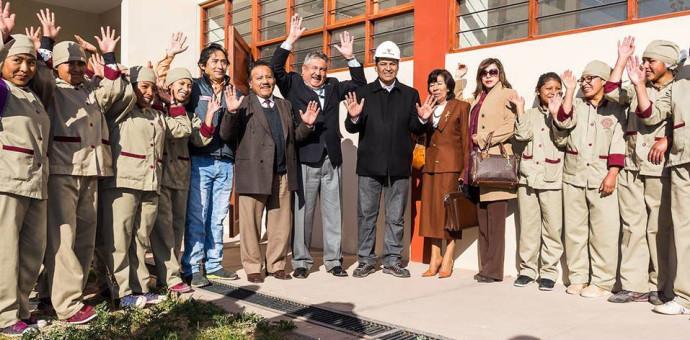 Anuncian pronta inauguración de los pabellones de turismo y hotelería del IST Túpac Amaru