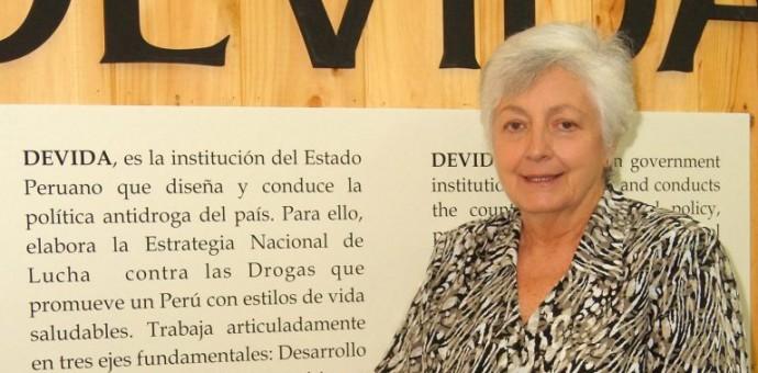 Designan a Carmen Masías Claux como flamante presidenta ejecutiva de Devida