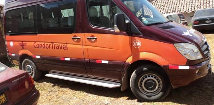 Vehículos Cóndor Travel fueron llevados al depósito Municipal por no tener autorización para realizar servicio de transporte