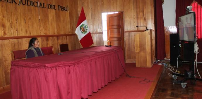 Corte Superior de Justicia del Cusco realizó primera audiencia virtual con requisitoriado