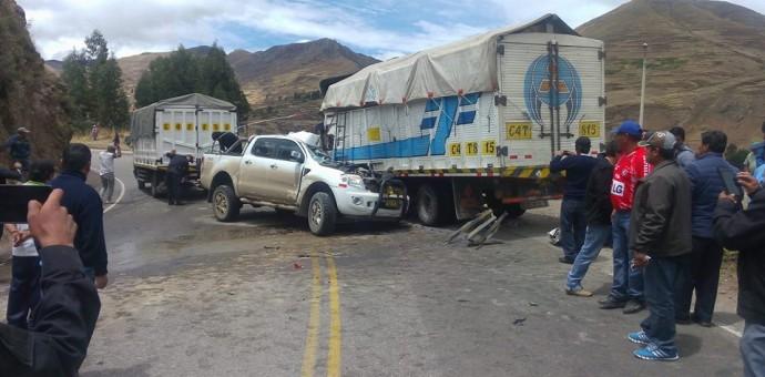 Grave accidente de tránsito en Combapata deja el saldo de 8 personas heridas