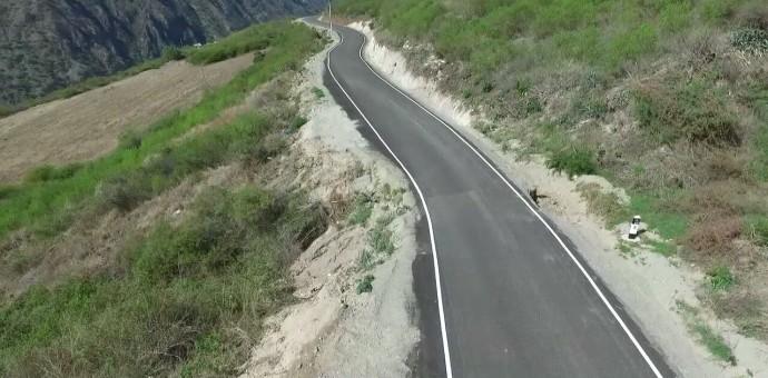 Gobierno Regional inauguró asfalto económico al distrito de Mollepata en Anta