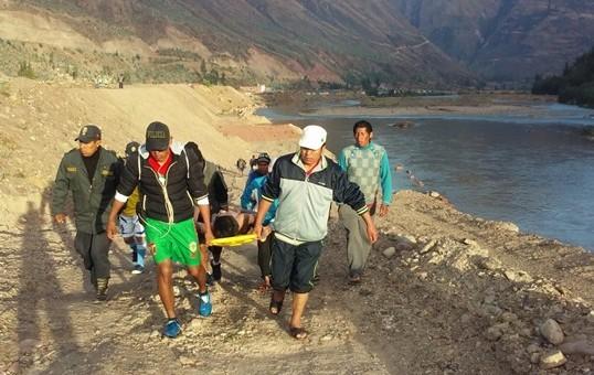 Encuentran cuerpo de menor de 13 años ahogado en el río Vilcanota