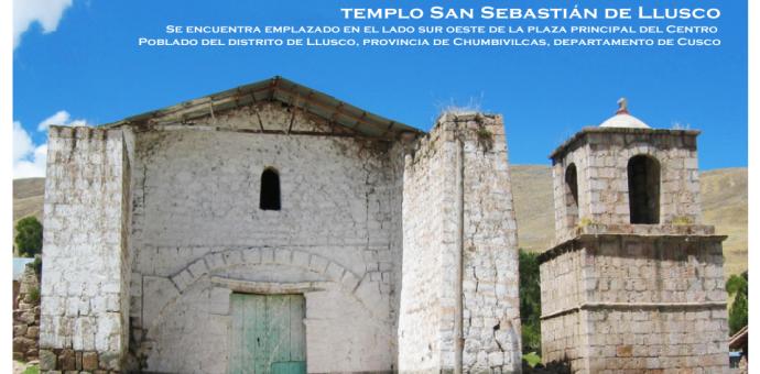 Declaran Patrimonio Cultural de la Nación al Templo San Sebastián de Llusco