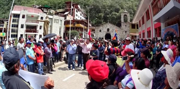 Cultura anuncia que solucionó todas las demandas de Machu Picchu Pueblo