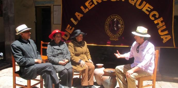 Academia mayor de la lengua Quechua, heroico bastión de nuestra lengua ancestral