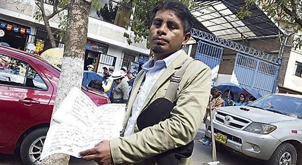 Fracasó proceso de revocatoria en contra de Franklin Sotomayor Alcalde de Santiago