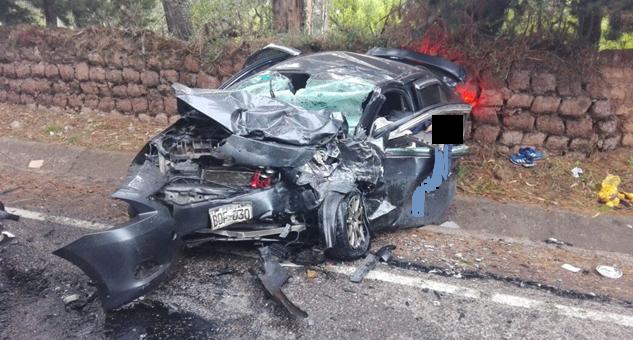 Choque frontal en Maras deja 2 personas fallecidas y 8 heridas