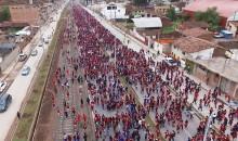 """Más de 13 mil deportistas participaron en el evento denominado """"Phawarisun 7.7k"""""""