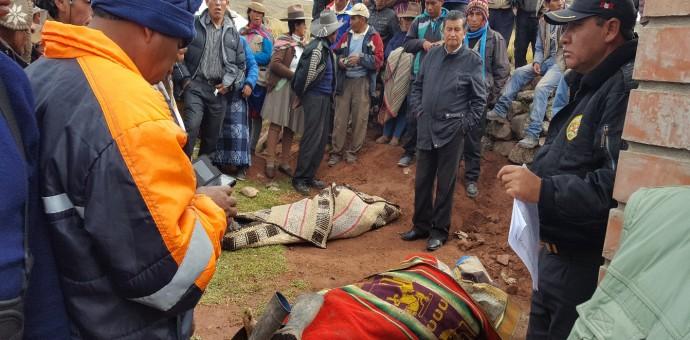 Campesinos fallecidos por rayo son obreros contratados por el Ministerio de Vivienda