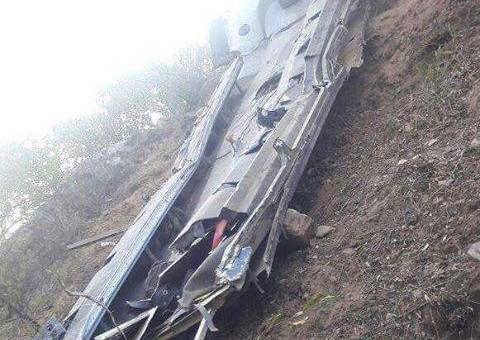 Relación oficial de Policías fallecidos en trágico accidente de tránsito en Antabamba