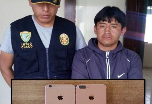 Capturan a sujeto que mediante la modalidad de «Lanza» sustraía celulares de turistas