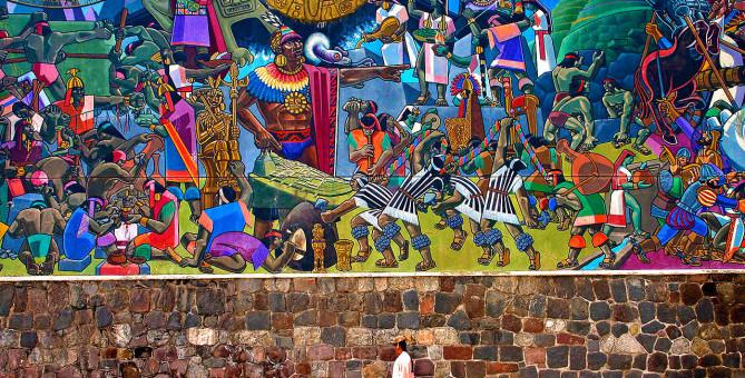 Un mural con historia