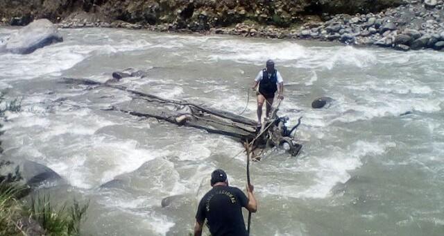 Policía rescató sin vida a un niño de 7 años que había caído al río Mapacho
