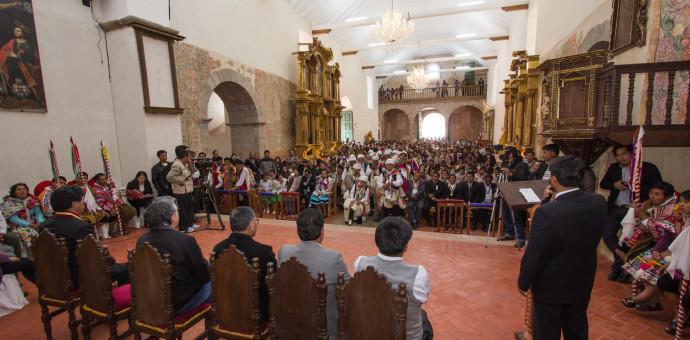 Templo Patrón Salvador del Mundo reabrió sus puertas al pueblo de Calca