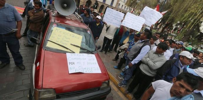 Autos Tico ya no pueden prestar servicio de taxi en Cusco