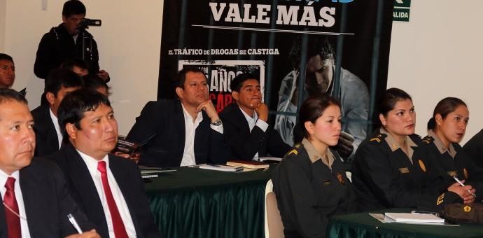 Devida: Gobierno francés capacitó a operadoras antidrogas en Cusco